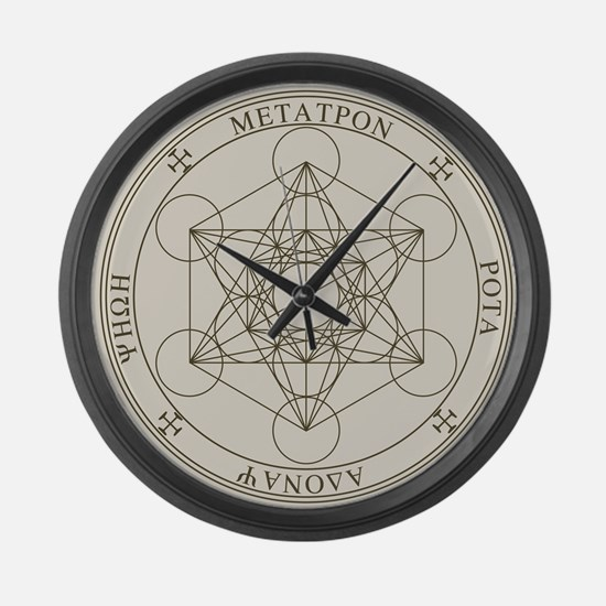 Metatron Large Wall Clock