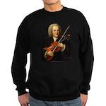 J.S. Bach on Viola Sweatshirt (dark)