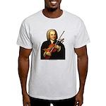 J.S. Bach on Viola Light T-Shirt