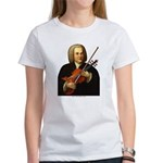 J.S. Bach on Viola Women's T-Shirt