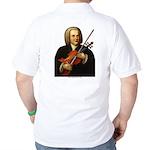 J.S. Bach on Viola Golf Shirt