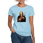 J.S. Bach on Viola Women's Light T-Shirt