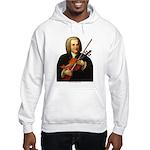 J.S. Bach on Viola Hooded Sweatshirt