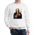 J.S. Bach on Viola Sweatshirt
