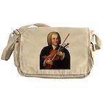 J.S. Bach on Viola Messenger Bag