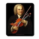 J.S. Bach on Viola Mousepad