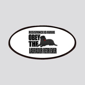 Labrador Retriever Patches