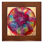 Silk Mandala2 - Framed Tile