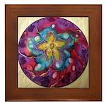 Silk Mandala1 Image - Framed Tile