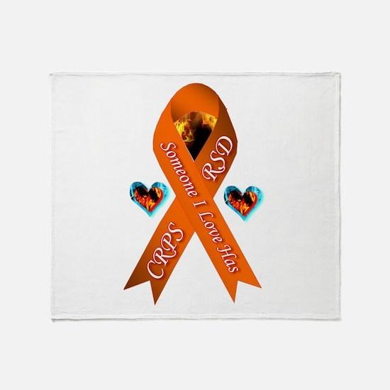 Someone I Love Has CRPS / RSD Throw Blanket