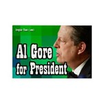 Al Gore for President Rectangle Magnet