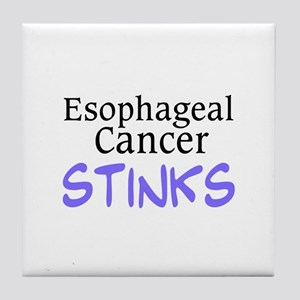 Esophageal Cancer Stinks Tile Coaster