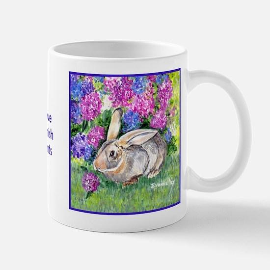Flemish Giant Rabbit Mug