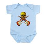 Skull & Guitar Infant Bodysuit