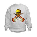 Skull & Guitar Kids Sweatshirt