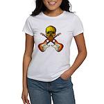 Skull & Guitar Women's T-Shirt