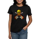 Skull & Guitar Women's Dark T-Shirt