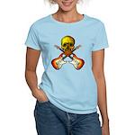 Skull & Guitar Women's Light T-Shirt