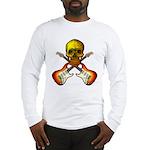 Skull & Guitar Long Sleeve T-Shirt