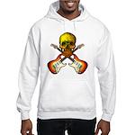 Skull & Guitar Hooded Sweatshirt