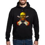 Skull & Guitar Hoodie (dark)