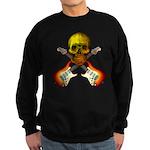 Skull & Guitar Sweatshirt (dark)