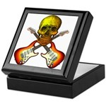Skull & Guitar Keepsake Box