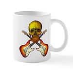 Skull & Guitar Mug