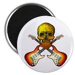 Skull & Guitar Magnet