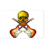 Skull & Guitar Postcards (Package of 8)