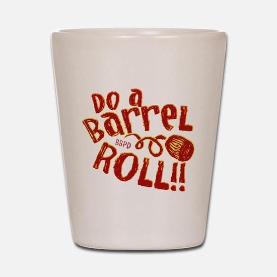 Do A Barrel Roll Shot Glass