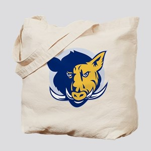 wlld pig razorback Tote Bag
