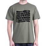 Music is a Moral Law Dark T-Shirt