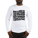 Music is a Moral Law Long Sleeve T-Shirt