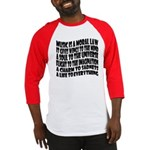 Music is a Moral Law Baseball Jersey
