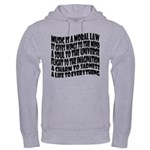 Music is a Moral Law Hooded Sweatshirt