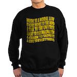 Music is a Moral Law Sweatshirt (dark)