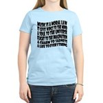 Music is a Moral Law Women's Light T-Shirt
