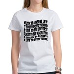 Music is a Moral Law Women's T-Shirt