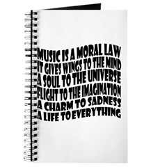 Music is a Moral Law Journal
