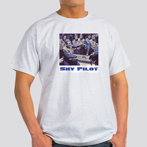Sky Pilot (Retro) Ash Grey T-Shirt