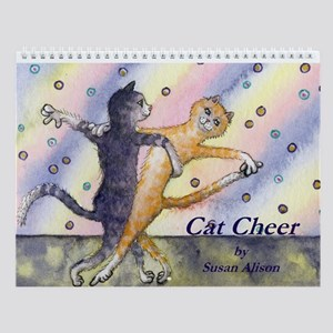 Cat Cheer Wall Calendar