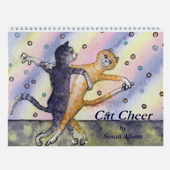 Cat Cheer Wall Calendar