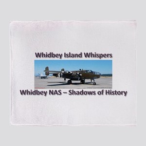 B-25 Mitchell Throw Blanket