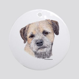 Border Terrier Ornament (Round)