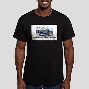 Boeing E-75 Biplane Men's Fitted T-Shirt (dark)