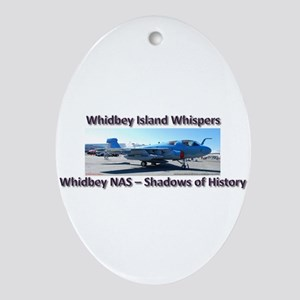Northrup Grumman EA-6B Prowle Ornament (Oval)