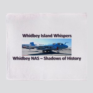 Northrup Grumman EA-6B Prowle Throw Blanket