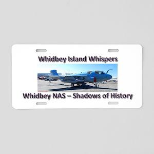 Northrup Grumman EA-6B Prowle Aluminum License Pla