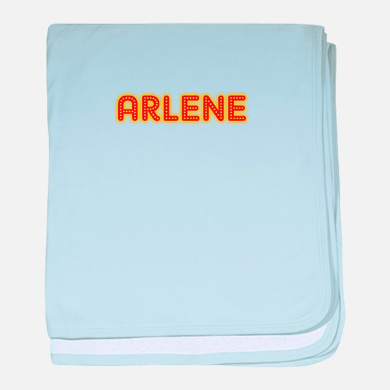 Arlene in Movie Lights baby blanket